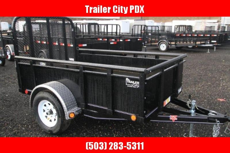 PJ Trailers 5X8 3K Solid Sides