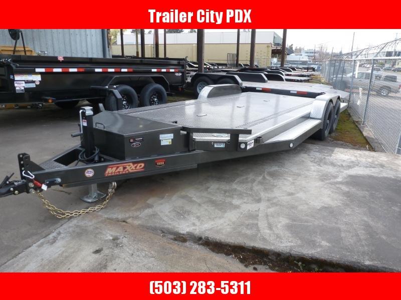 "2020 MAXXD 20' X 83"" 5"" TUBING CARHAULER Flatbed Trailer"