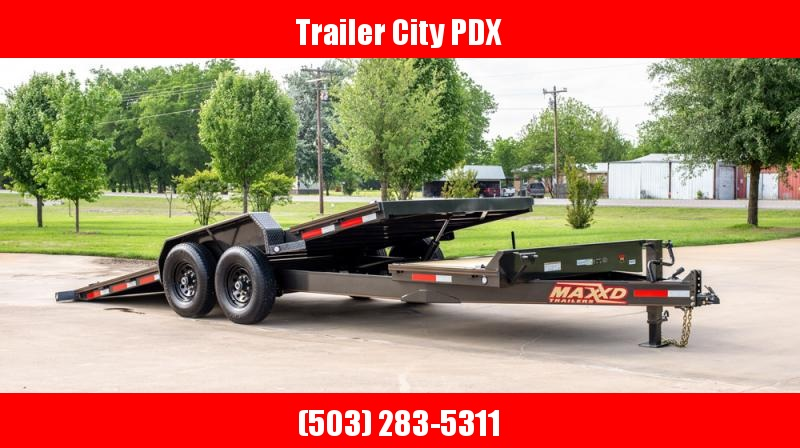 "2020 MAXXD G8X - 22' X 83"" 14 Gravity Equipment Tilt Trailer Equipment Trailer"
