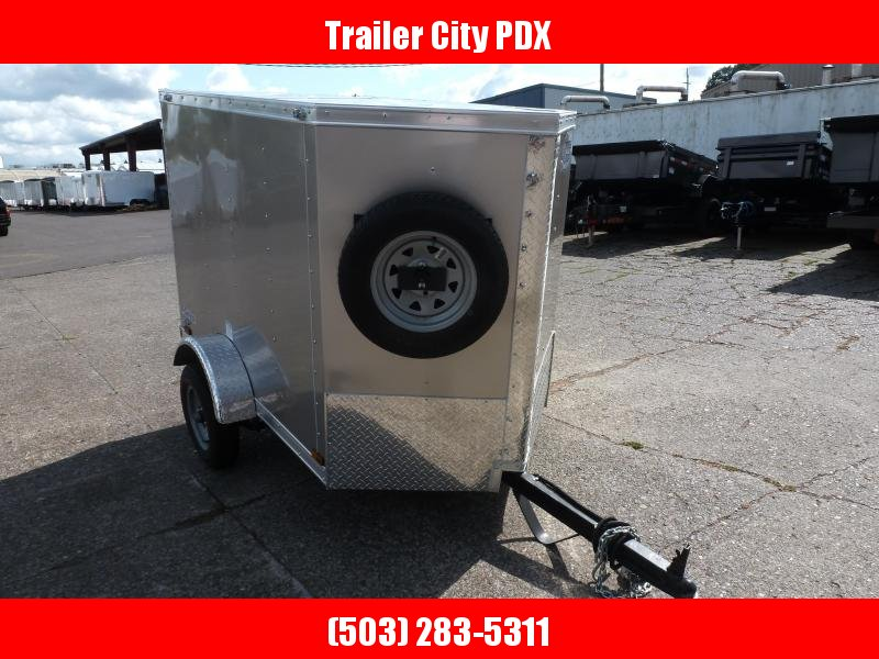 Continental Cargo 4 X 6 3K CARGO V SERIES CHAMPAGNE Enclosed Cargo Trailer