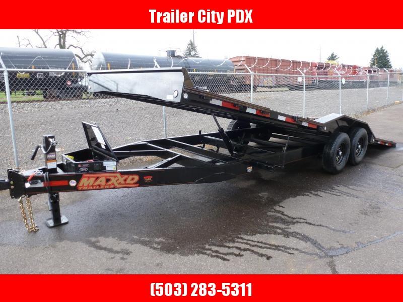 "2020 MAXXD T6X - 24' X 102"" 14K CHANNEL POWER Tilt Trailer Flatbed Trailer"