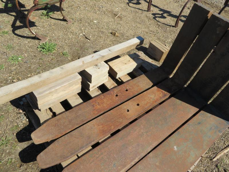 Used Rail-Type Pallet Forks