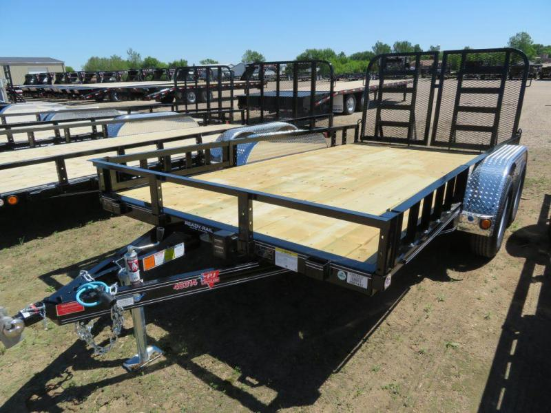 2019 PJ Trailers 14 Tandem Axle ATV Utility Trailer