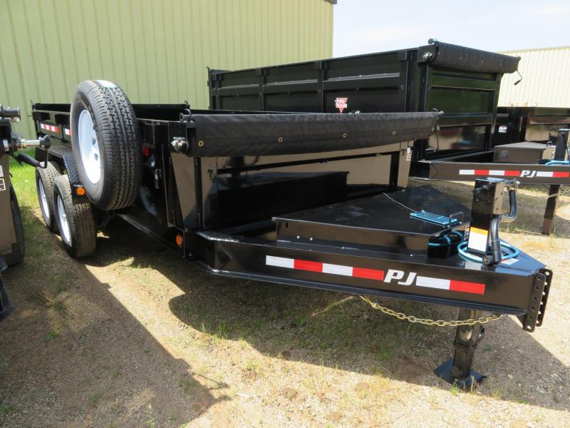 2019 PJ Trailers 14 Low Profile Dump Trailer