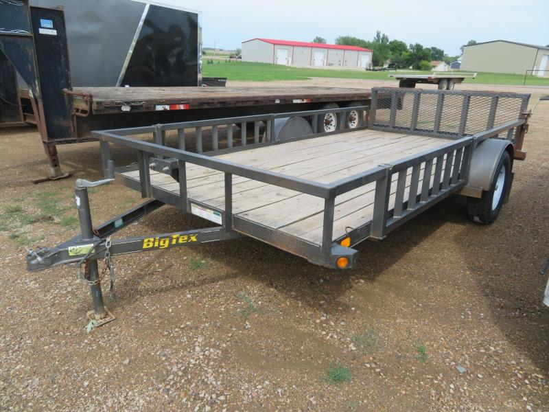 2011 Big Tex Trailers 14 Utility Trailer