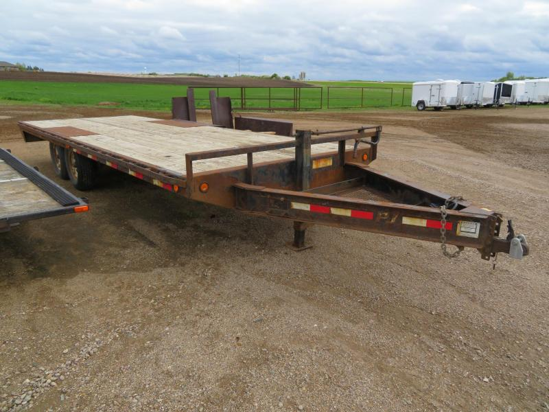 2013 PJ Trailers 22 Deckover Equipment Trailer