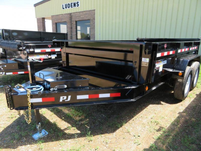 2019 PJ Trailers 12 Low Profile Dump Trailer