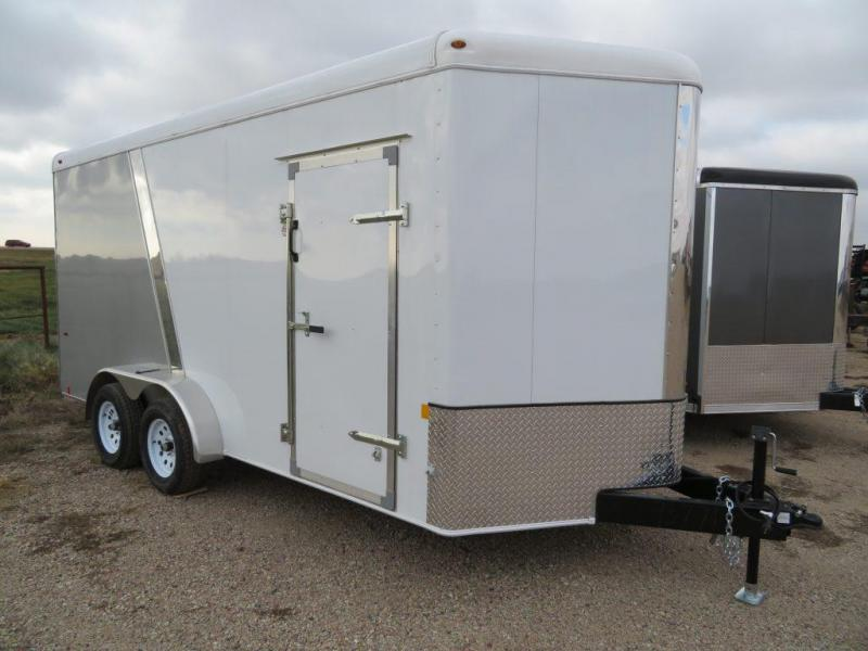 New 2018 Interstate 7 x 16 Enclosed Cargo Trailer