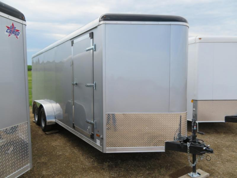 2020 US Cargo 7 x 18 Enclosed Cargo Trailer