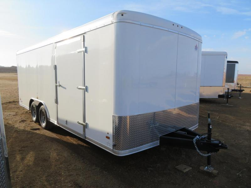 2020 US Cargo 8.5 x 20 Enclosed Cargo Trailer
