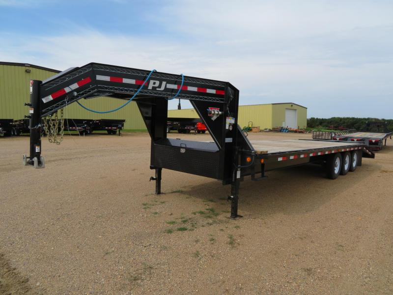 2019 PJ Trailers 28 Triple Axle GN Trailer