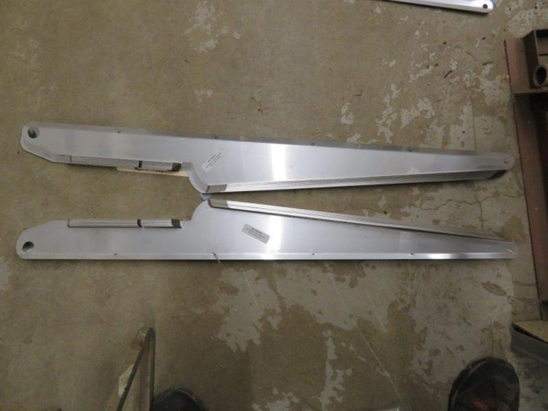 New Stainless Steel Wear Strips - 90 Series JD Cornhead Snout