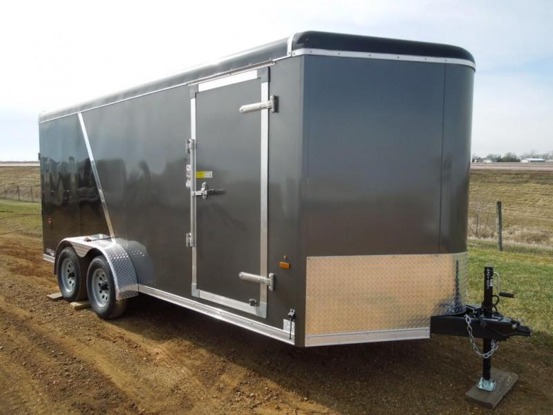 2019 US Cargo 7 x 16 Enclosed Cargo Trailer