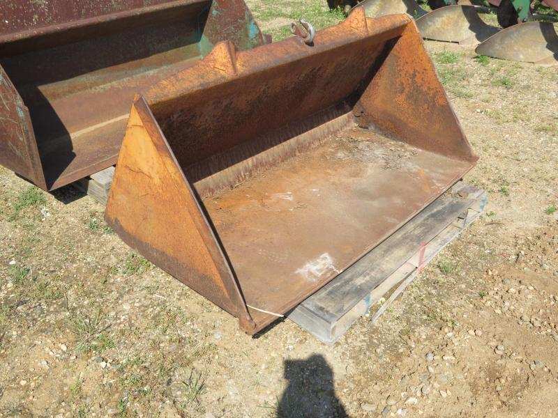 "Case 1830 60"" Skid Steer Bucket"