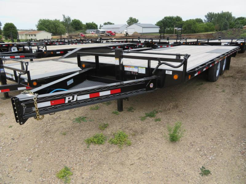 2019 PJ Trailers 20 Low Profile Deckover Trailer