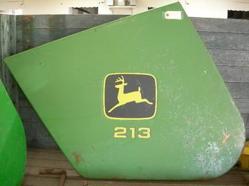 Used John Deere - 200 Series Left End Shield