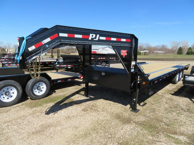 2020 PJ Trailers 26 Low Profile Gooseneck Trailer