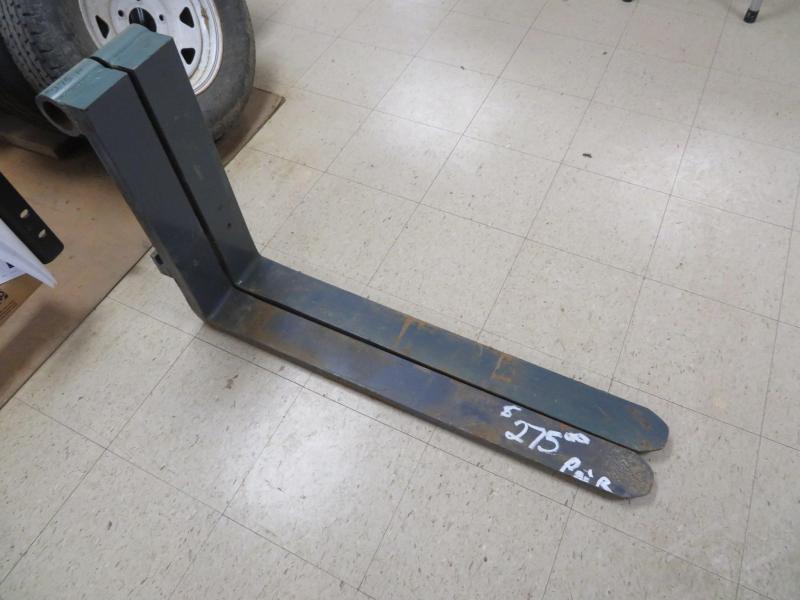 Used Shaft-Type Pallet Forks