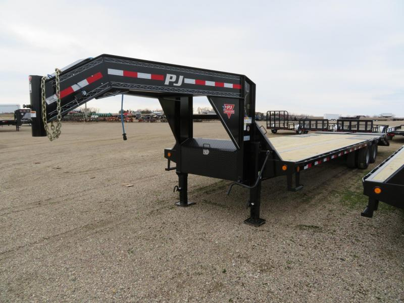 2019 PJ Trailers 32 Low Profile Gooseneck Trailer