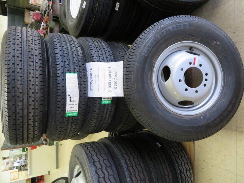 Goodride ST 235/80R 16 Dually Trailer Tires