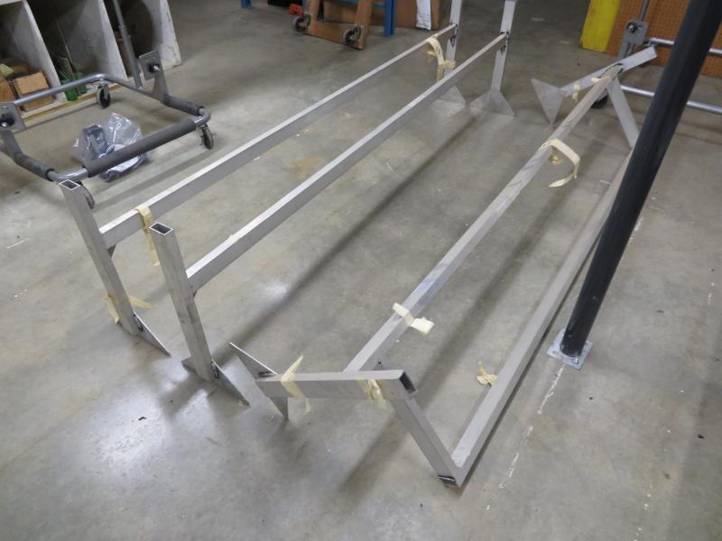 Aluminum Ladder Racks for Enclosed Cargo Trailer