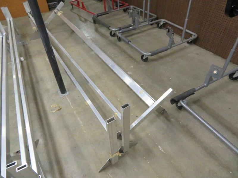 Aluminum Ladder Racks for Enclosed Cargo Trailers