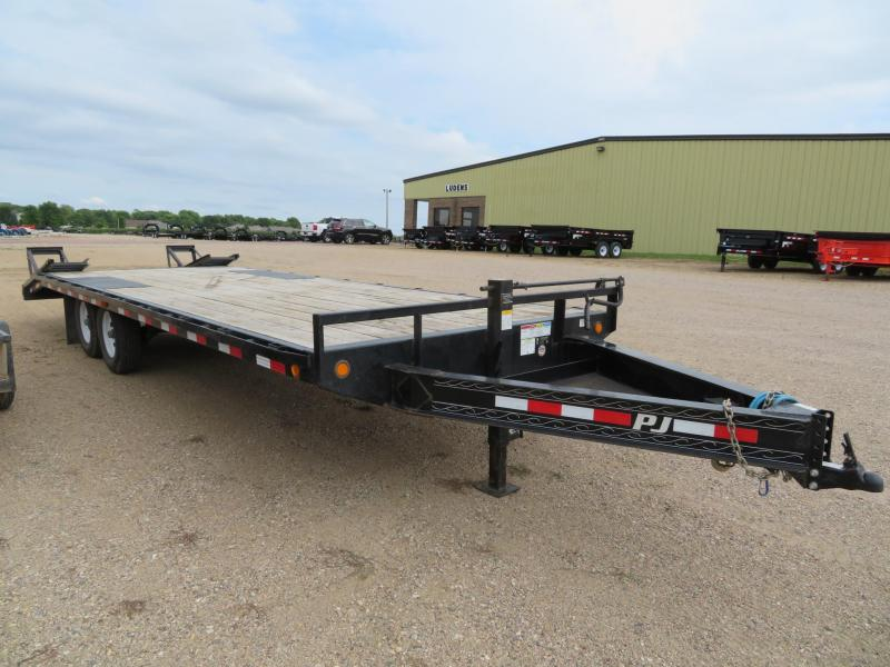 2018 PJ Trailers 24 Low Profile Deckover Trailer