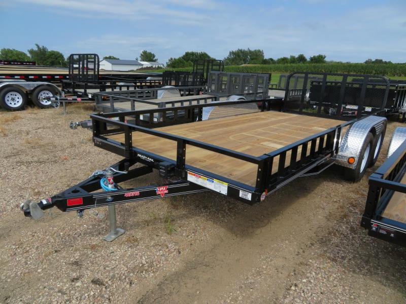 2020 PJ Trailers 16 Tandem Axle ATV Utility Trailer