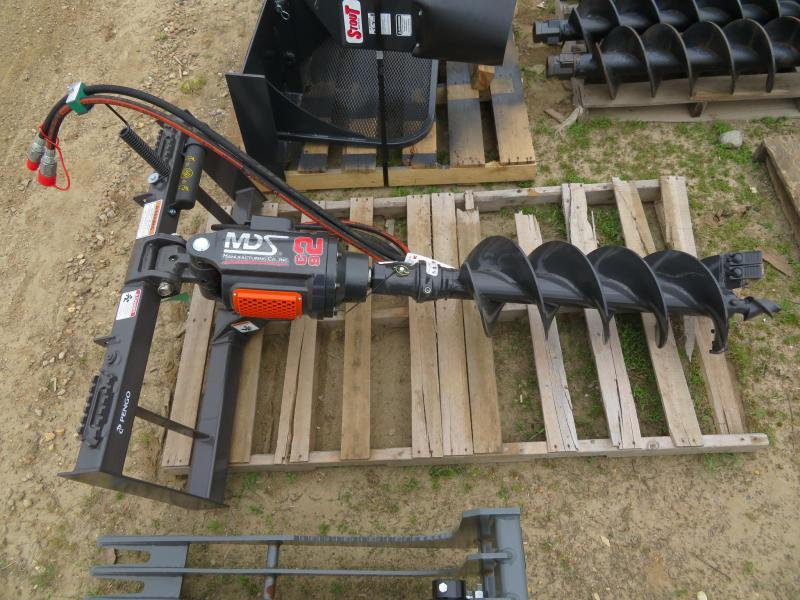 New MDS Pengo C2 Skid Steer Post Auger
