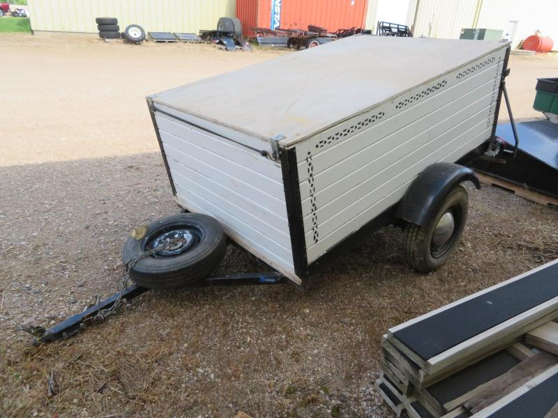 Homemade 4 x 6 Enclosed Cargo Trailer