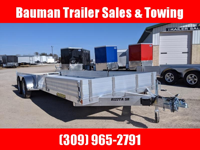 2020 Aluma 8122TA SR Utility Trailer