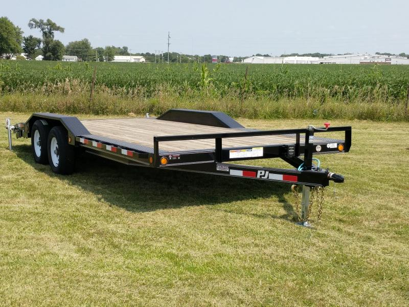 2020 PJ Trailers B5 Buggy Hauler 20ft Flatbed Trailer