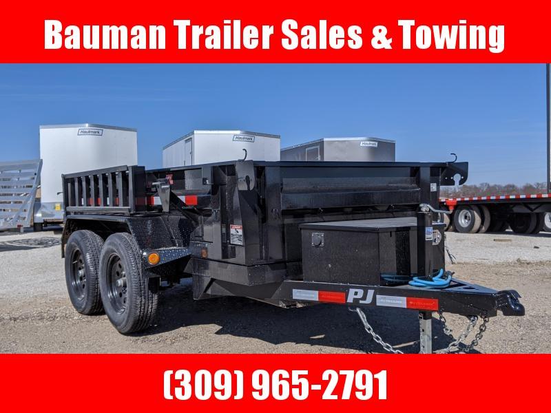 2020 PJ Trailers 60X10 Tandem Axle Dump trailer Dump Trailer