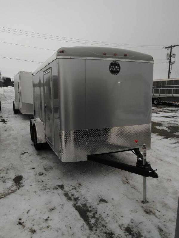 2019 Wells Cargo RF7X14 Enclosed Cargo Trailer