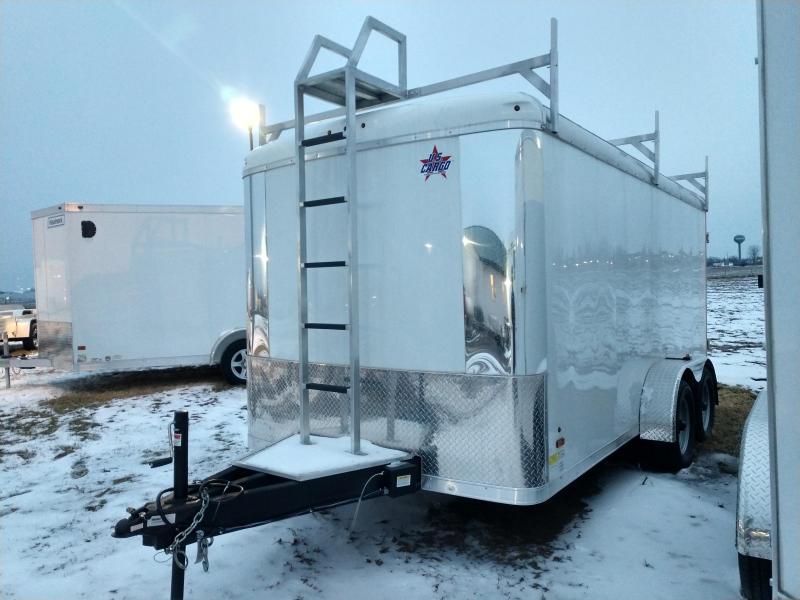 2019 US Cargo TSPP 7X14 Contractor Trailer Enclosed Cargo Trailer