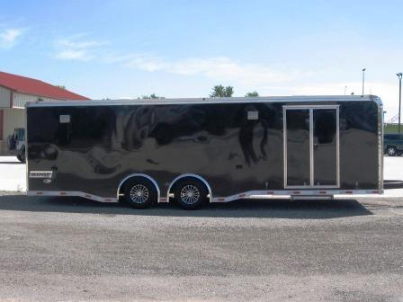 2018 Haulmark 8.5X28 Edge Race Trailer