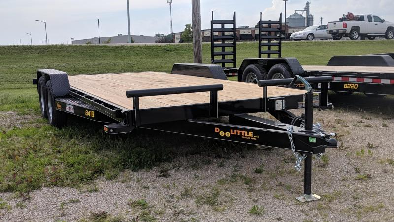 2019 Doolittle 84X18 CarTrailer
