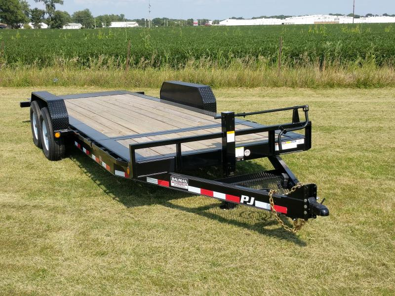 2019 PJ Trailers HD Equipment Tilt 6 in. Channel (TJ) Flatbed Trailer