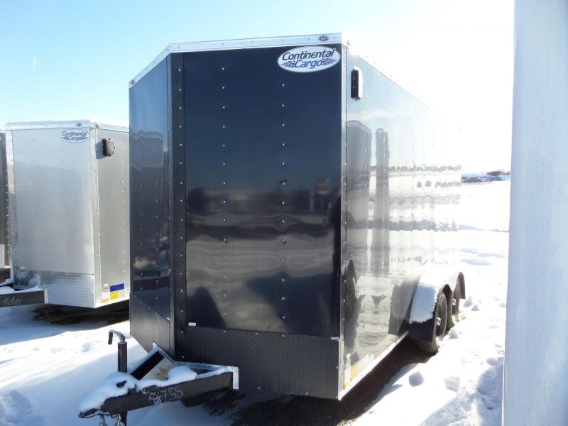 2019 Continental Cargo V-Series 7 x 14 Enclosed Cargo Trailer
