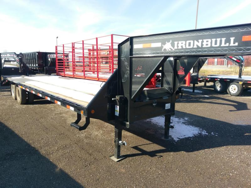 2018 Iron Bull 30' Tandem Dual Gooseneck