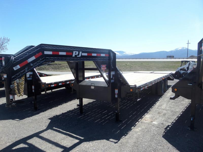 2019 PJ Trailers Classic Flatdeck with Duals 25'