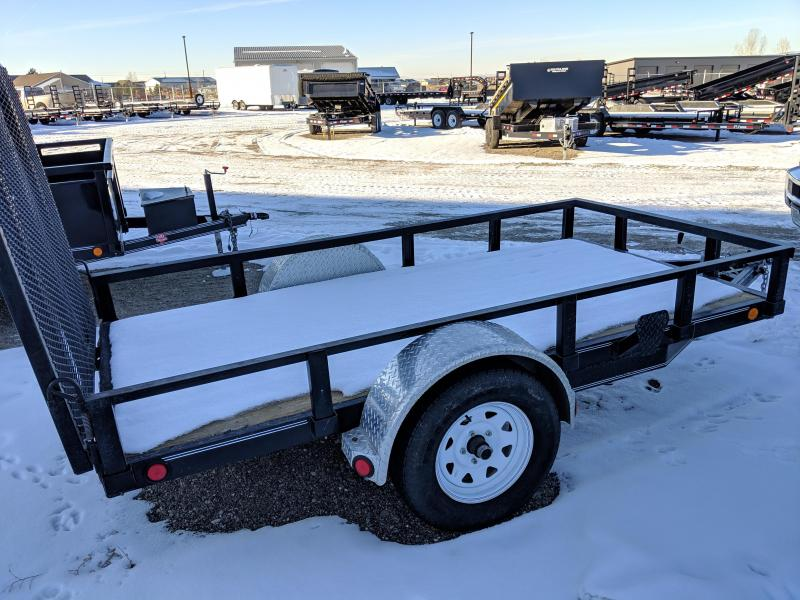 "2010 PJ Trailers Single Axle Utility (U6) 60"" x 10'"