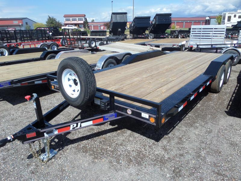 "2019 PJ Trailers 5"" Channel Buggy Hauler (B5) 20'"