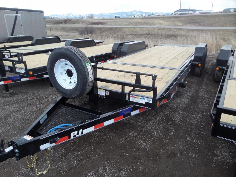 2019 PJ Trailers Equipment Tilt Car / Racing Trailer