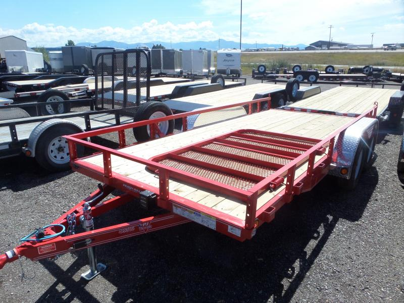 "2019 PJ Trailers 83"" x 16' Tandem Axle Channel Utility (UL)"