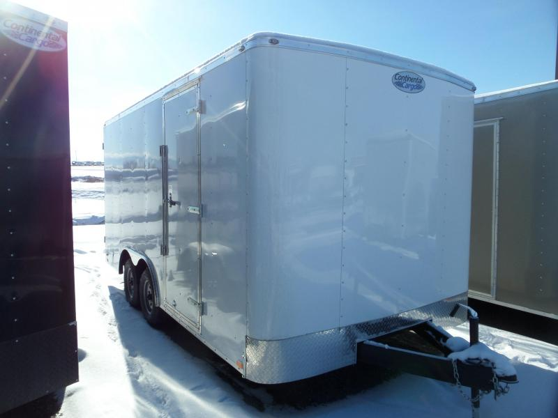 2019 Continental Cargo Rambler 8 x 16 Enclosed Cargo Trailer