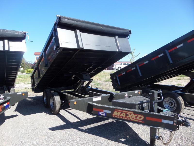 "2019 Maxxd Trailers D9X 14' x 96"" Deck-Over Dump Trailer"