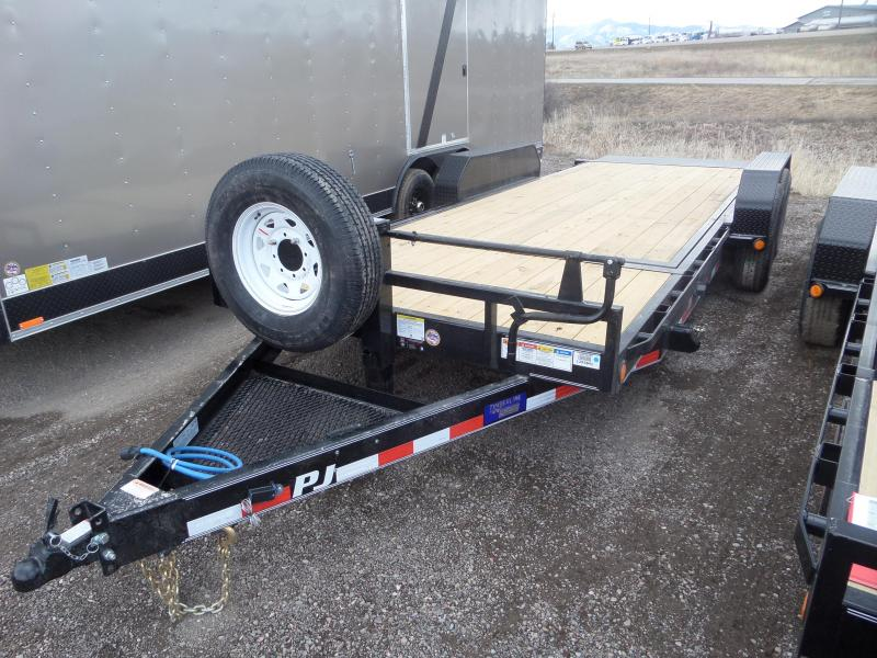 2019 PJ Trailers 6 in. Channel Equipment Tilt Car / Racing Trailer