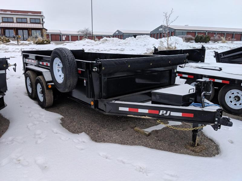 "2019 PJ Trailers 83"" x 14' Low Pro Dump (DL)"