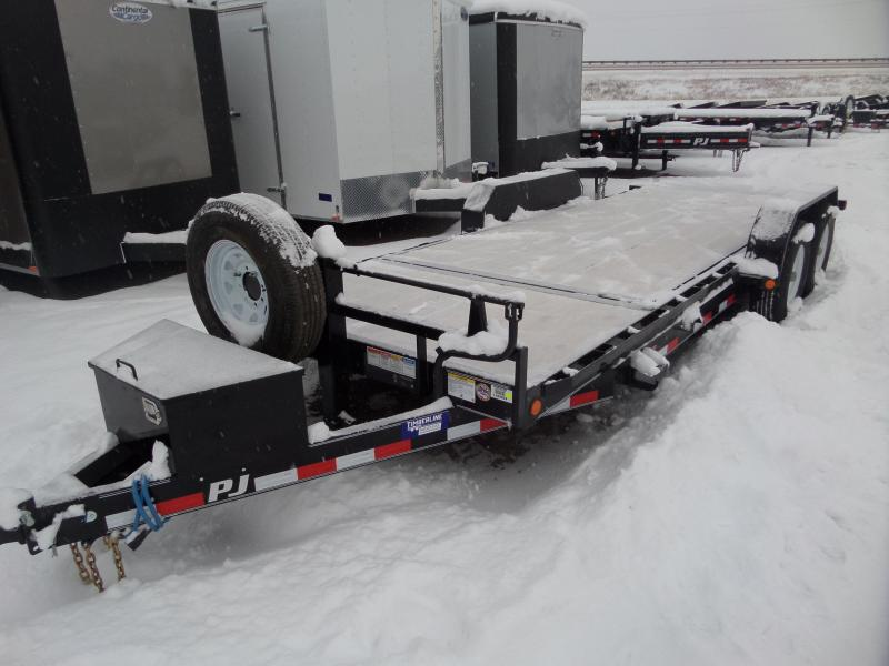 "2018 PJ Trailers 6"" Channel Equipment Tilt 20'"